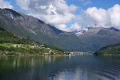 Sognefjord Royalty-vrije Stock Afbeelding