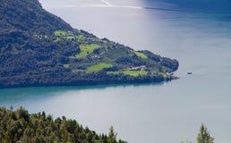 sognefjord obraz royalty free
