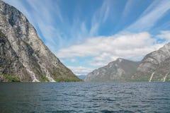 Sognefjord Fotografía de archivo libre de regalías