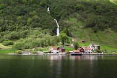 Sognefjord Fotos de archivo libres de regalías