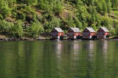 Sognefjord Foto de archivo libre de regalías