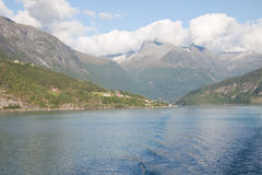 Sognefjord Images libres de droits