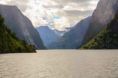 Sognefjord Στοκ Φωτογραφίες