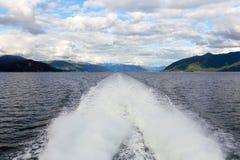 Sognefjord Στοκ φωτογραφίες με δικαίωμα ελεύθερης χρήσης