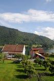 Sognefjord in Balestrand Royalty-vrije Stock Foto