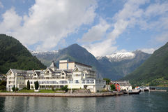 Sognefjord chez Balestrand Photos libres de droits