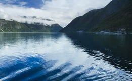Sognefjord, Norvège Image libre de droits
