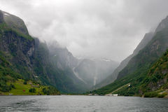 Sognefjord, Norvège image stock
