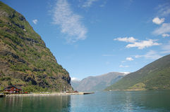 Sognefjord in Norvegia Immagine Stock Libera da Diritti