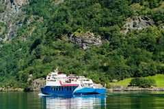 Sognefjord Norway royalty free stock photography