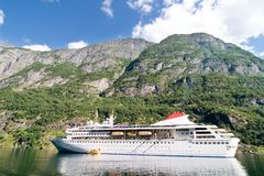 Sognefjord Norway Cruise Stock Image