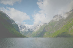 Sognefjord Royalty Free Stock Photos