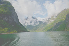 Sognefjord Stock Photo