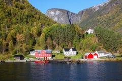 Sognefjord sceneria, Norwegia, Scandinavia fotografia stock
