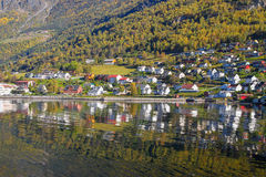 Sognefjord scenery, Norway, Scandinavia Royalty Free Stock Photography