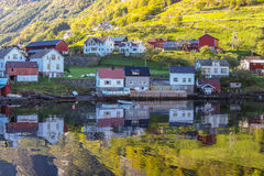 Sognefjord scenery, Norway, Scandinavia Stock Image