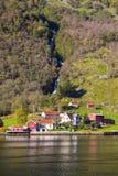 Sognefjord scenery, Norway, Scandinavia Royalty Free Stock Photo