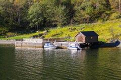 Sognefjord scenery, Norway, Scandinavia Stock Images