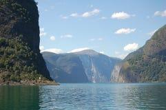 Sognefjorden Royaltyfri Foto