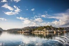 Sognefjorden Photo libre de droits