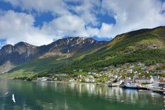 Sognefjorden Royalty-vrije Stock Foto's