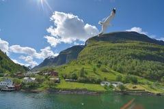 Sognefjorden Arkivfoto