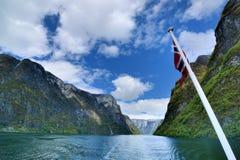 Sognefjorden Royaltyfri Fotografi