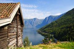 Sognefjorden Stockfotos