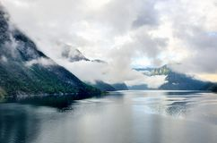 Sognefjorden on way to Flam Stock Image