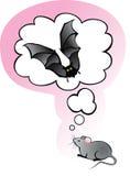 Sogni del mouse royalty illustrazione gratis