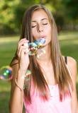 Sogni della bolla. Fotografia Stock Libera da Diritti