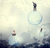 Sogni della bolla Immagine Stock