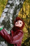 sogni di autunno Fotografie Stock Libere da Diritti