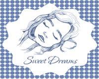 Sogni dolci Immagine Stock