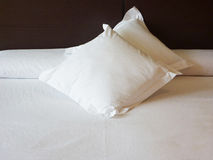 Sogni dolci ricamati sui cuscini Fotografie Stock