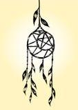 Sogni il collettore Vecter disegnato a mano in bianco e nero Immagini Stock Libere da Diritti