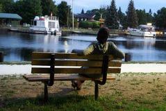 Sogni riposanti del parco Fotografie Stock Libere da Diritti