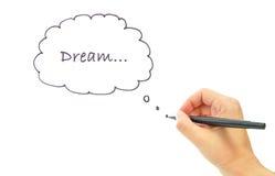 Sogno fotografia stock