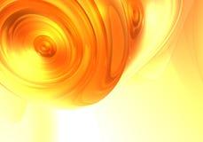 Sogno arancione 02 Immagini Stock Libere da Diritti