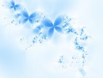 Sogno blu illustrazione di stock