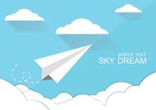 Sogno del cielo Fotografia Stock Libera da Diritti