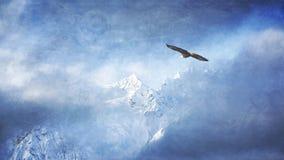 Sogno dell'Alaska Immagine Stock