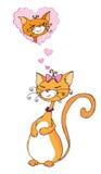 Sogno dell'amore royalty illustrazione gratis