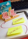Sogno dell'ufficio Fotografia Stock