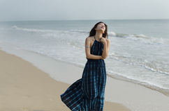 Sogno della spiaggia Immagine Stock