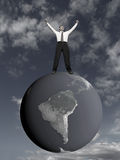 Sogno di affari. Immagine Stock Libera da Diritti