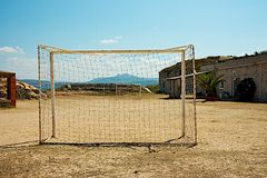 Sogno di calcio Immagine Stock