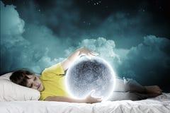 Sogno di notte Immagini Stock Libere da Diritti