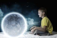 Sogno di notte Fotografie Stock Libere da Diritti