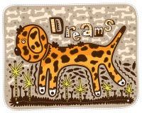 Sogno di un cucciolo Fotografie Stock